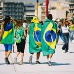 ブラジルの応援隊