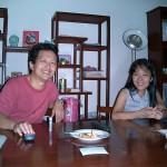 カンボジア在住の友人夫妻